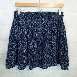 Old Navy cotton navy blue with star print skirt, M